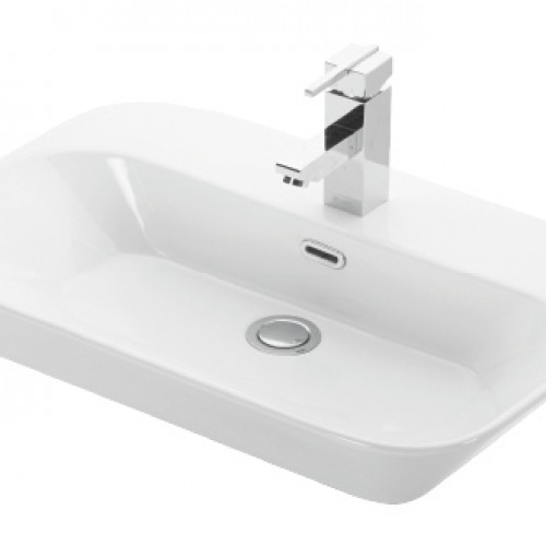 Esvit Drop 65 cm mobilya Üstü lavabo