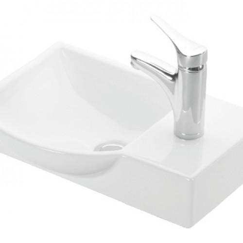 Esvit Litos 45 cm mobilya uyumlu lavabo