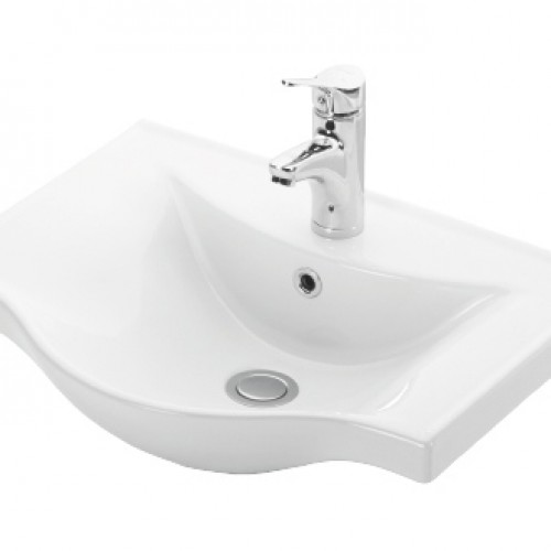 Esvit Basic 55 cm mobilya uyumlu lavabo