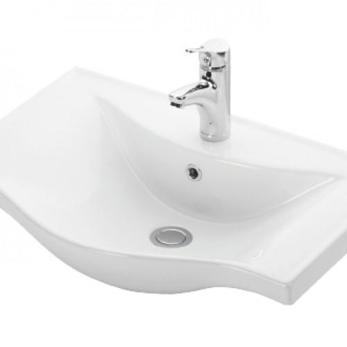 Esvit Basic 65 cm mobilya uyumlu lavabo