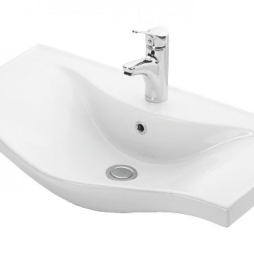 Esvit Basic 75 cm mobilya uyumlu lavabo