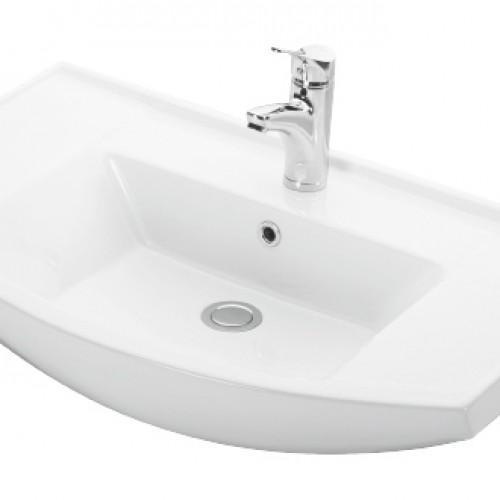 Esvit Bianna 80 cm mobilya uyumlu lavabo