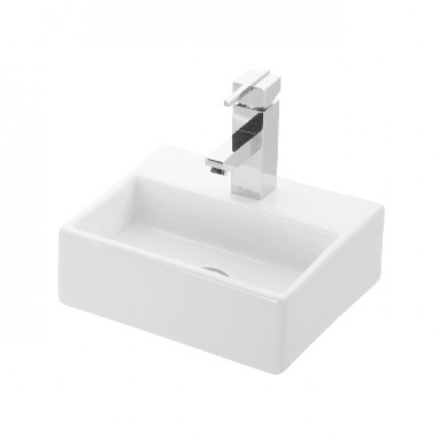 Esvit Daphne Delikli 28x33 cm mobilya Üstü lavabo