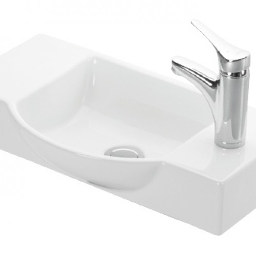 Esvit Litos 55 cm mobilya uyumlu lavabo