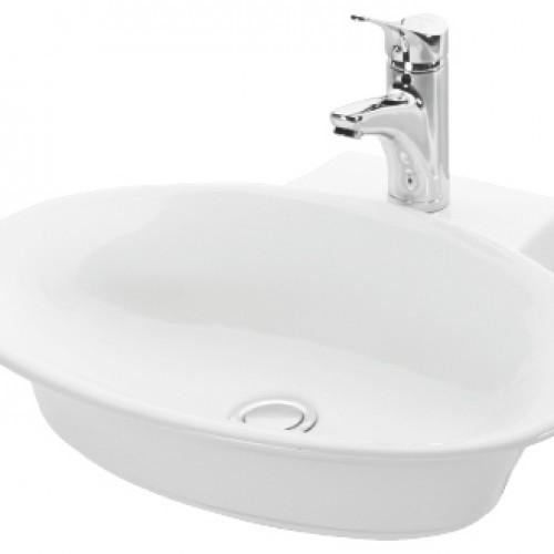Esvit Oinos 57 cm mobilya Üstü lavabo