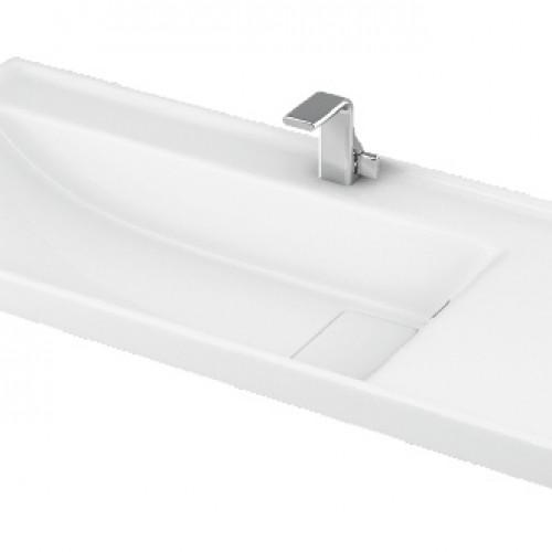 Esvit Quattro 100 cm mobilya uyumlu lavabo