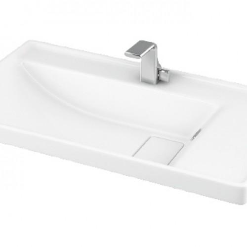 Esvit Quattro 80 cm mobilya uyumlu lavabo