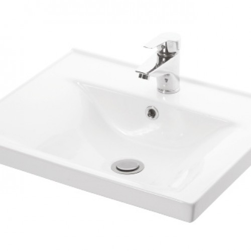 Esvit Sava 55 cm mobilya uyumlu lavabo