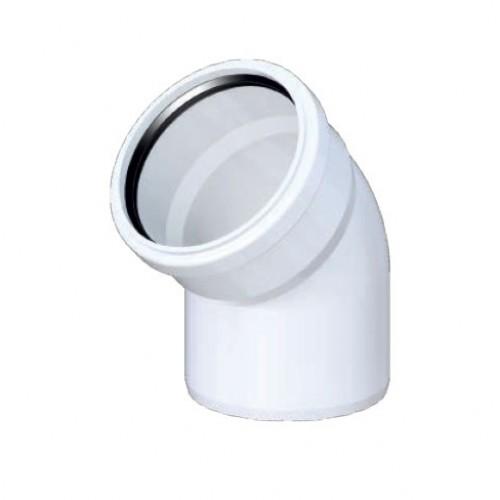 UPLAST PVC Atık Su dirsek  125 mm (3.2 mm)