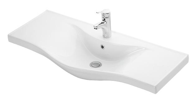Esvit Basic 100 cm mobilya uyumlu lavabo