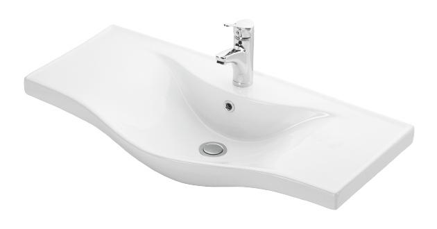 Esvit Basic 90 cm mobilya uyumlu lavabo