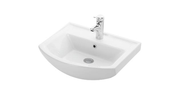 Esvit Bianna 55 cm mobilya uyumlu lavabo