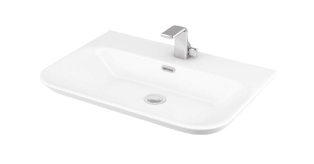 Esvit Drop Slim 65 cm mobilya Üstü lavabo