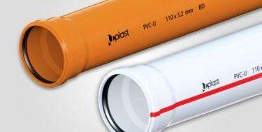 UPLAST PVC Atık su boruları 50 x 500 (3.2 mm)